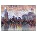 Artist Lane Lake View I by Jennifer Webb Art Print Wrapped on Canvas