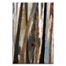 Artist Lane Treeline in Olive #2 by Katherine Boland Art Print Wrapped on Canvas