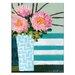 Artist Lane Stripes by Anna Blatman Art Print on Canvas
