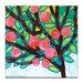Artist Lane Red Apple by Anna Blatman Art Print on Canvas