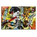 Artist Lane Yes You by Dan Monteavaro Graphic Art Wrapped on Canvas