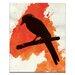 Artist Lane Dark Wings Dark Words by Ayarti Art Print on Canvas