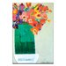 Artist Lane Green Vase by Anna Blatman Art Print on Canvas