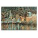Artist Lane Yarra View by Jennifer Webb Art Print Wrapped on Canvas