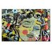 Artist Lane Place by Dan Monteavaro Graphic Art Wrapped on Canvas