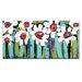Artist Lane White Blooms by Anna Blatman Art Print on Canvas
