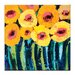 Artist Lane Poppies by Anna Blatman Art Print Wrapped on Canvas