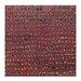 Artist Lane Ad Infinitum #3 by Katherine Boland Art Print on Canvas in Dark Red