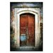 Artist Lane Doors of Italy - Macchia Blu by Joe Vittorio Photographic Print Wrapped on Canvas