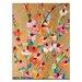 Artist Lane Golden Blooms by Anna Blatman Art Print Wrapped on Canvas