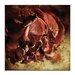 Artist Lane Fallen rose by Caroline Gorka Graphic Art on Canvas