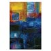 Artist Lane Abstraction No.30 by Kathy Morton Stanion Art Print on Canvas