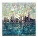 Artist Lane Bay XI by Jennifer Webb Art Print Wrapped on Canvas