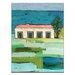 Artist Lane Beachside by Anna Blatman Art Print Wrapped on Canvas