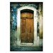 Artist Lane Doors of Italy - Colori Complementari by Joe Vittorio Photographic Print Wrapped on Canvas in Brown