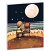 Artist Lane The Stars, The Moon and The Tide by Karin Taylor Art Print on Canvas