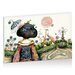 Artist Lane Topiary Teapot by Karin Taylor Art Print Wrapped on Canvas