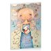 Artist Lane Mary Had a Little Lamb by Karin Taylor Art Print Wrapped on Canvas