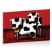 Artist Lane Baby Bull Production by Karin Taylor Art Print Wrapped on Canvas