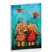 Artist Lane Forever Friends Blue Skies by Karin Taylor Art Print on Canvas
