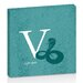 Artist Lane V for Viper by Toni Prime Graphic Art Wrapped on Canvas in Teal