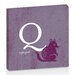 Artist Lane Q for Quoll by Toni Prime Graphic Art Wrapped on Canvas in Purple