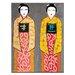 Artist Lane Sun Rise Geisha by Anna Blatman Art Print on Canvas