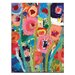 Artist Lane Palette Poppies 2 by Anna Blatman Art Print on Canvas