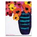 Artist Lane Peace Poppies by Anna Blatman Art Print on Canvas
