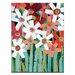 Artist Lane Springtime by Anna Blatman Art Print on Canvas
