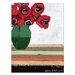 Artist Lane Vivs Poppies by Anna Blatman Art Print on Canvas