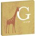 Artist Lane G for Giraffe by Toni Prime Graphic Art Wrapped on Canvas in Yellow
