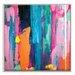 Artist Lane 'Springrain 3' by Sabina Klein Framed Art Print on Wrapped Canvas