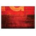 Artist Lane 'Plymsol' by Bente Andermahr Graphic Art on Wrapped Canvas