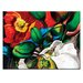 Artist Lane 'Singing Poppies' by Shani Alexander Art Print on Wrapped Canvas