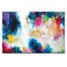 Artist Lane 'Heart of the Matter' by Amira Rahim Art Print Wrapped on Canvas