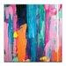 Artist Lane 'Springrain3' by Sabina Klein Art Print on Wrapped Canvas