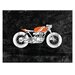 Artist Lane 'Cafe Racer 3' by Ayarti Graphic Art on Wrapped Canvas