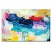 Artist Lane 'Lipstick lover' by Amira Rahim Art Print on Wrapped Canvas