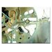 Artist Lane 'Going Clockwise 2' by Olena Kosenko Graphic Art on Wrapped Canvas