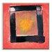Artist Lane 'Black Box Eclipse' by Mario Burgoa Framed Art Print on Wrapped Canvas
