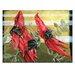 Artist Lane 'Swainsona Formosa' by Olena Kosenko Graphic Art on Wrapped Canvas