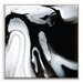 Artist Lane 'Flow 5' by Chalie MacRae Framed Art Print on Wrapped Canvas