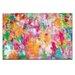 Artist Lane 'Prayer Rug no 2' by Amira Rahim Art Print on Wrapped Canvas