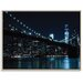 Artist Lane 'Brooklyn Nights' by Andrew Paranavitana Framed Photographic Print on Wrapped Canvas