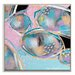 Artist Lane 'Pastel Rocks 2' by Sherren Comensoli Framed Art Print on Wrapped Canvas