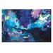 Artist Lane 'Copacetic' by Amira Rahim Art Print Wrapped on Canvas