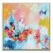 Artist Lane 'Chasing waterfalls' by Amira Rahim Framed Art Print on Wrapped Canvas