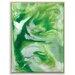 Artist Lane 'Flow 15' by Chalie MacRae Framed Art Print on Wrapped Canvas