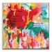 Artist Lane 'Happy not Hippy' by Amira Rahim Art Print Wrapped on Canvas